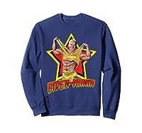 Biden Mania Joe Biden 2020 Bidenmania Political Humor Shirts Sweatshirt Navy