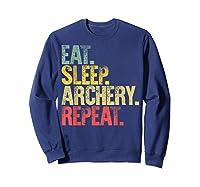 Eat Sleep Repeat Gift Shirt Eat Sleep Ary Repeat T-shirt Sweatshirt Navy