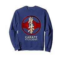 Karate Kyokushin T-shirt Sweatshirt Navy