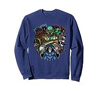Terraria Boss Rush Hardmode Edition Shirts Sweatshirt Navy