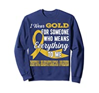 Means Everything Embryonal Rhabdomyosarcoma Shirts Sweatshirt Navy