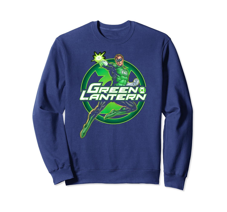 Green Lantern Glow Shirts Crewneck Sweater
