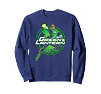 Green Lantern Glow Shirts Sweatshirt Navy