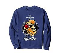 My Weekend Hustle Dj T-shirt T-shirt Sweatshirt Navy