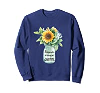 Happiness Is Being A Gramma Gift For Grandma Shirts Sweatshirt Navy