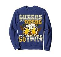 Funny Beer Drinking 1969 T Shirt 50th Birthday Gifts Sweatshirt Navy