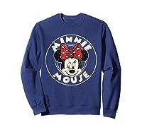 Circle Minnie Shirts Sweatshirt Navy