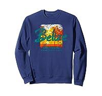 Belize Ambergris Caye Retro Vintage Travel Shirts Sweatshirt Navy
