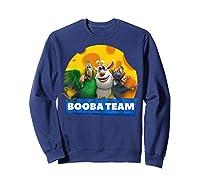 Booba Team Friendship Cheese For Girls Birthday Gift Shirts Sweatshirt Navy