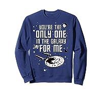 Star Trek Only One For Me Valentine's Day Graphic Shirts Sweatshirt Navy