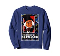 Cabinet Of Dr Caligari Halloween Horror Shirts Sweatshirt Navy
