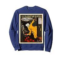 La Victoria Arduino Caffe Cafe Espresso Poster Shirts Sweatshirt Navy
