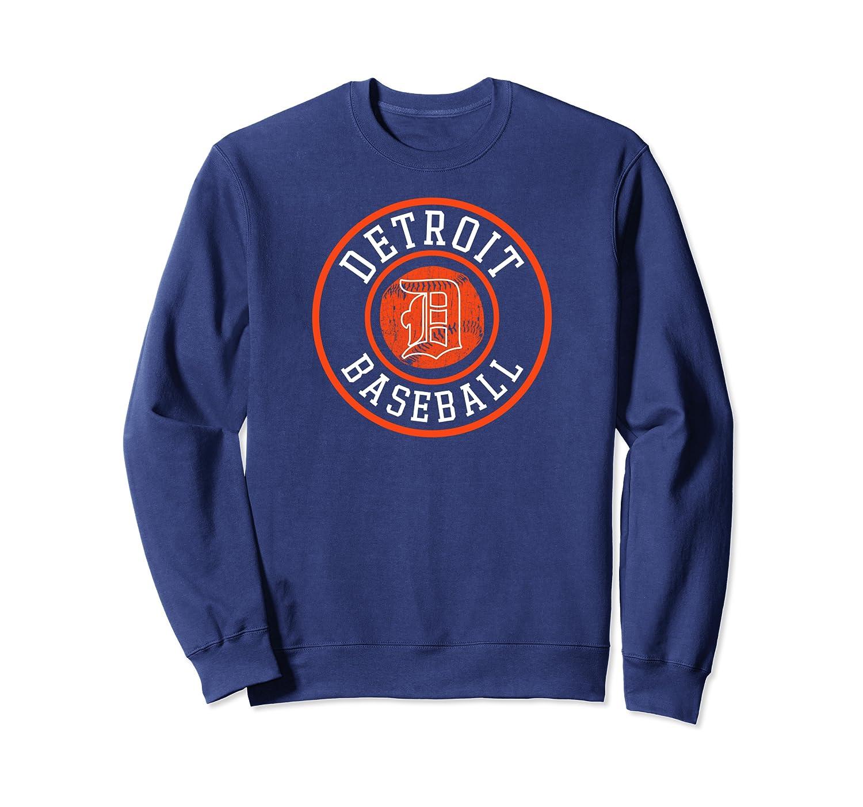 Detroit Baseball Michigan Vintage Bengal Tiger Badge Gift Shirts
