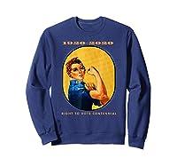 Right To Vote Centennial Xix 19th Adt Gift Shirts Sweatshirt Navy
