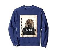 Weimaraners Dog Mug Sho Shirts Sweatshirt Navy