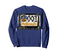 Disney Hercules Grecian Marathon Poster T-shirt Sweatshirt Navy