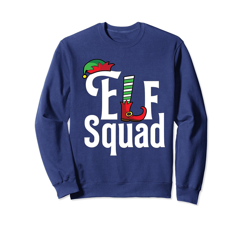 Elf Squad Family Christmas Season Group Matching Pajama Sweatshirt-Cotoa