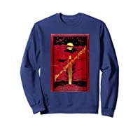 From The Earth To The Moon Jules Verne Book Cover Design Shirts Sweatshirt Navy