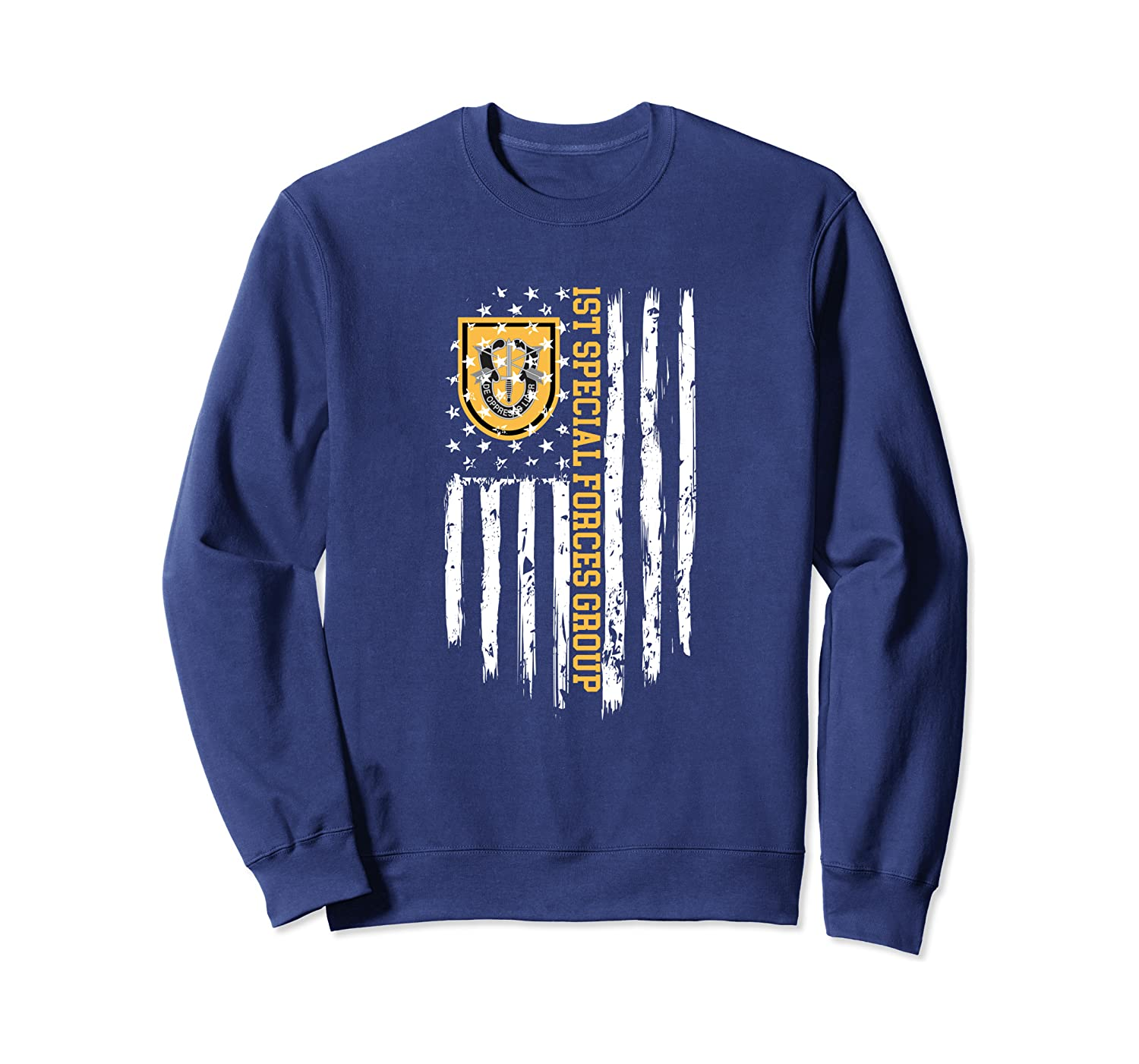 1st Special Forces Group (1st SFG) American Flag Sweatshirt
