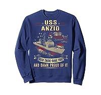 Anzio Cg 68 Shirts Sweatshirt Navy