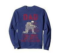 Dad, Man, Myth, Legend, Husband Military Veterans Shirts Sweatshirt Navy