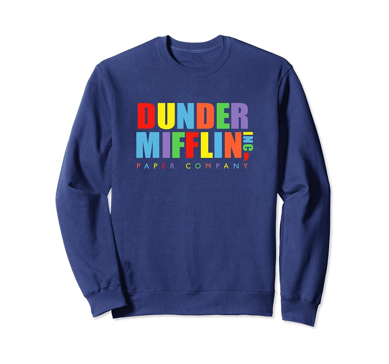 The Office Dunder Mifflin Regenbogenbriefe Sweatshirt