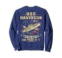Davidson Ff 1045 Shirts Sweatshirt Navy