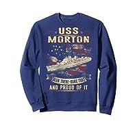 Uss Morton (dd-948) T-shirt Sweatshirt Navy