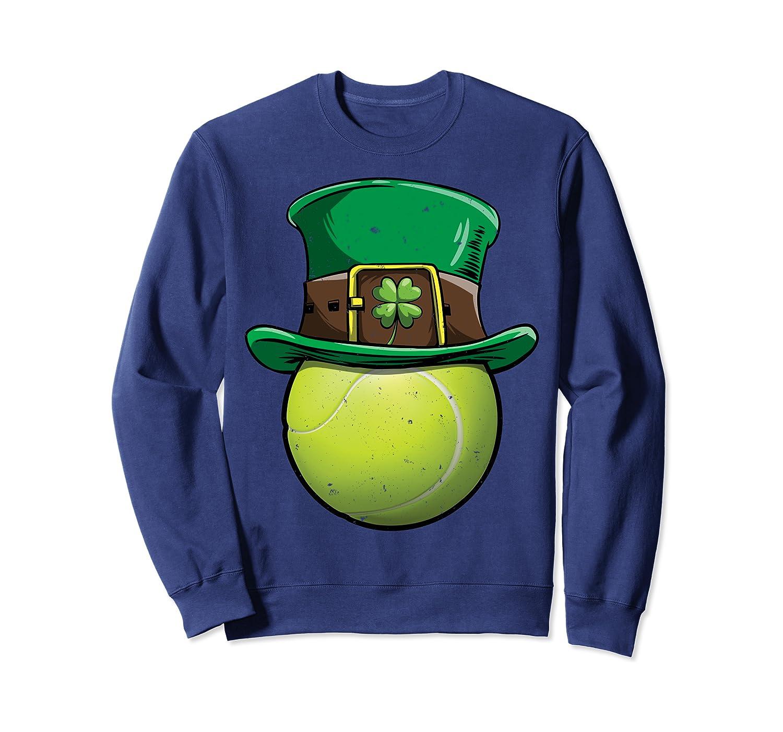 Tennis St Patricks Day Men Women Ball Leprechaun Sports Gift Sweatshirt Unisex Tshirt