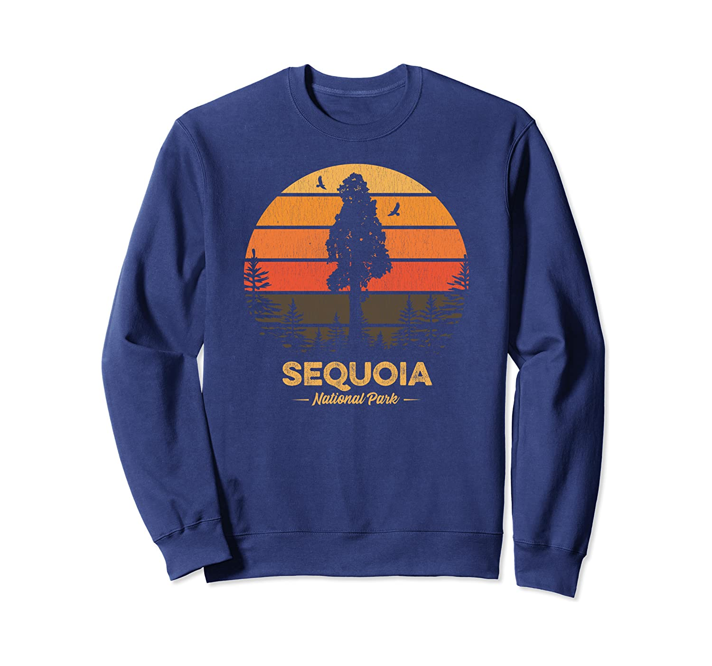 Sequoia National Park Shirt Retro Vintage Souvenir Gift Sweatshirt