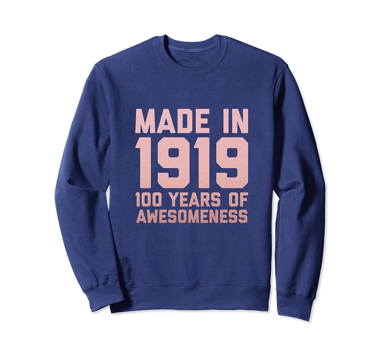 100th Birthday Sweatshirt Grandma Gifts 100 Year Old Grandpa
