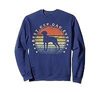 Best Gsp Dad Ever Dog Lover Owner German Shorthaired Pointer Shirts Sweatshirt Navy