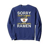 Kawaii Ra Japanese Noodle Food Anime Funny Shirts Sweatshirt Navy
