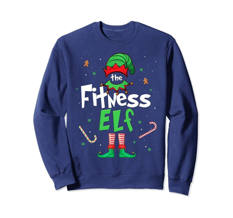 I'm The Fitness Elf Christmas Gift Idea Xmas Family Sweatshirt-Awarplus