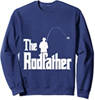 The Rodfather Is On The River This Christmas T-shirt Sweatshirt Navy