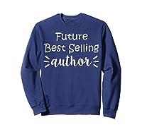 Author Essayist Journalist Scriptwriter T Shirt Sweatshirt Navy