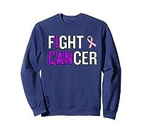 Breast Cancer Month Awareness Gift For Survivors Warriors Premium T Shirt Sweatshirt Navy