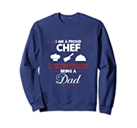 Chef Cooking Funny Culinary Chefs Dad Father S Day Gifts Tank Top Shirts Sweatshirt Navy