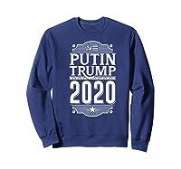 Resist Russian Putin Impeach President Putin Trump 2020 Premium T Shirt Sweatshirt Navy