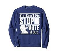 Sarcastic Impeach Resist President Vote Dems Anti Trump 2020 Premium T Shirt Sweatshirt Navy