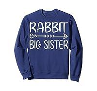 Cute Rabbit Big Sister Shirt I M Going To Be A Big Sister T Shirt Sweatshirt Navy