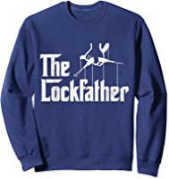 Locksmith - Lockfather T-shirt Sweatshirt Navy