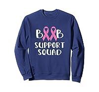 Pink Night Football Breast Cancer Awareness Month Supporter T Shirt Sweatshirt Navy