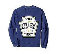 Mustard Condits Group Halloween Costumes T-shirt T-shirt Sweatshirt Navy
