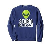 Storm Area 51 - Alien Awareness Truth Event - Together We Raglan Baseball Ts Shirts Sweatshirt Navy