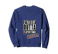 Straight Outta Flavortown Nevada T-shirt Sweatshirt Navy