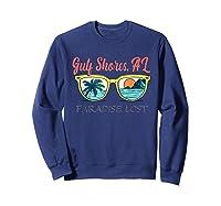 Gulf Shores Beach Alabama Paradise Lost Shirts Sweatshirt Navy