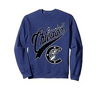 Chicago Baseball Shirts Sweatshirt Navy