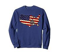 Gadsden Flag Snake Shirt -on Don't On Me Tread T-shirt T-shirt Sweatshirt Navy