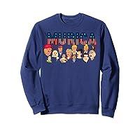 Funny Political Humor Murica Trump Hillary Great Election T Shirt Sweatshirt Navy